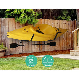 Wall Mounted Foldable Kayak Rack