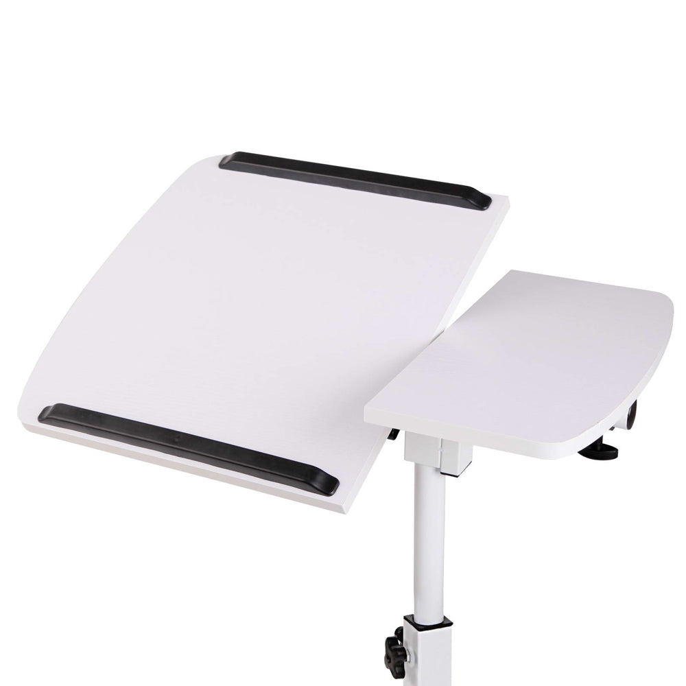 Adjustable Computer Stand - White