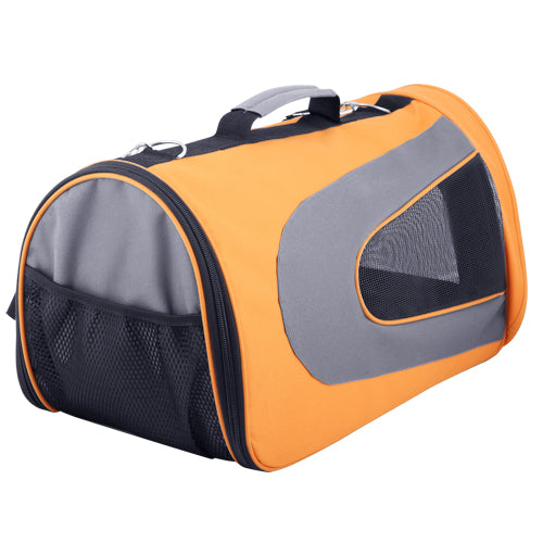 i.Pet Extra Large Portable Foldable Pet Carrier - Orange