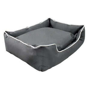 i.Pet Large Washable Pet Bed - Grey