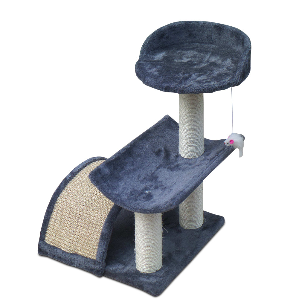 i.Pet 60cm Cat Scratching Post - Grey