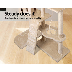 i.Pet 170cm Cat Scratching Post - Beige