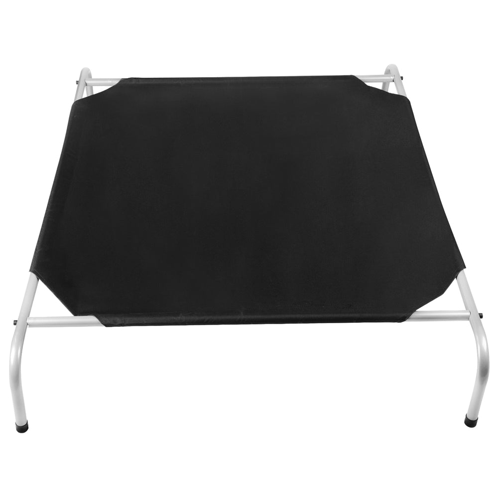 i.Pet Large Canvash Heavy Duty Pet Trampoline - Black