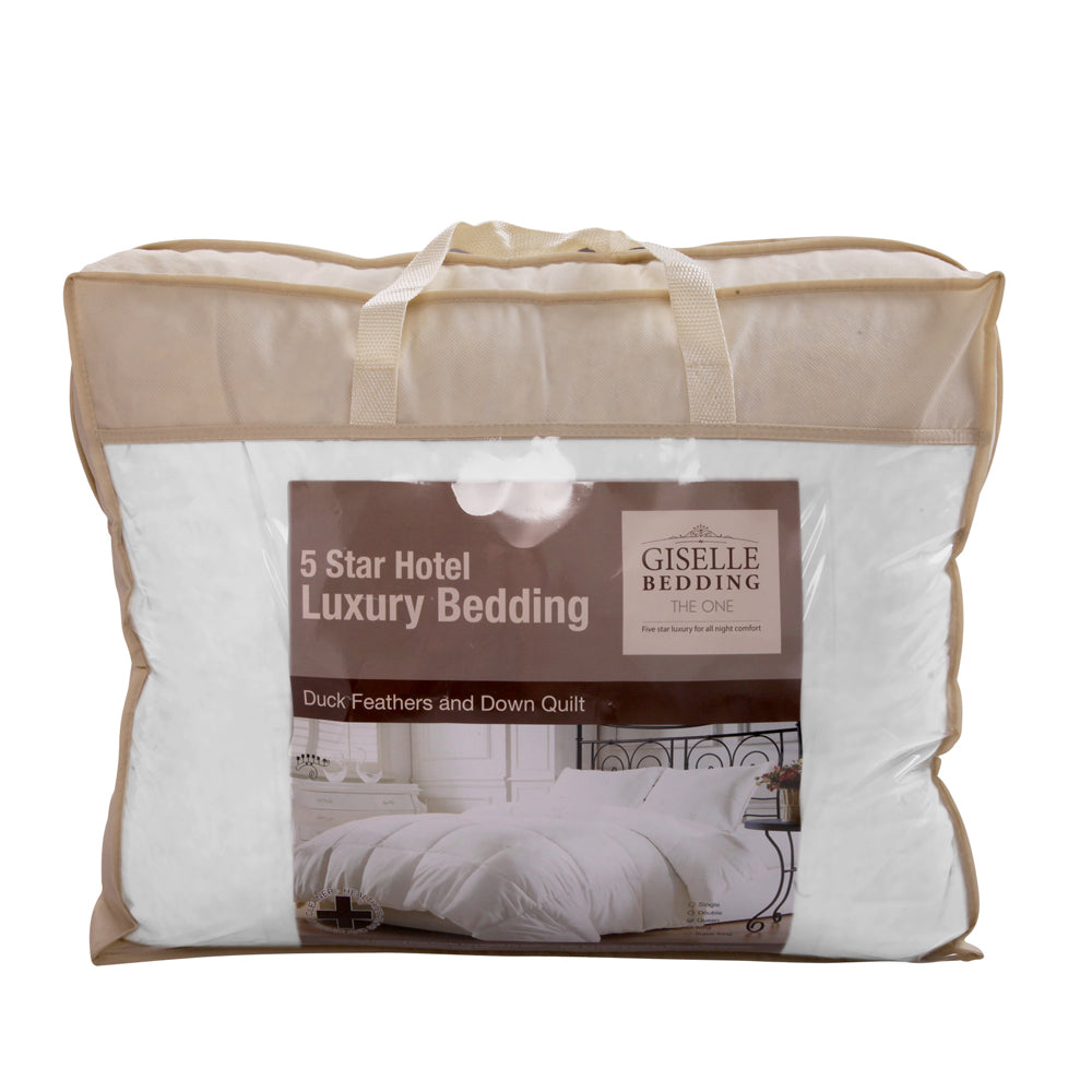 Giselle Bedding King Size Duck Down Quilt