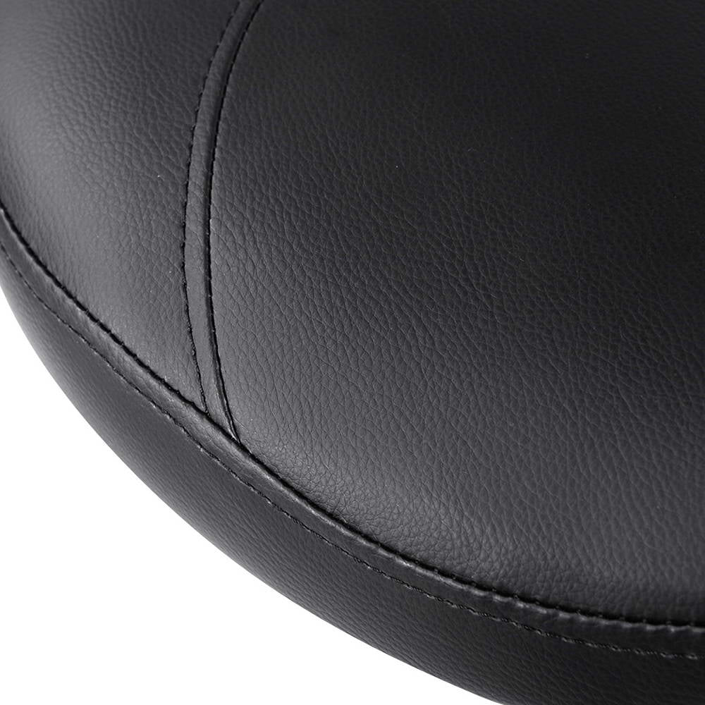 Artiss PU Leather Swivel Saddle Salon Chair - Black