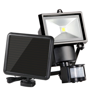 Set of 2 COB LED Solar Powered Sensor Lights