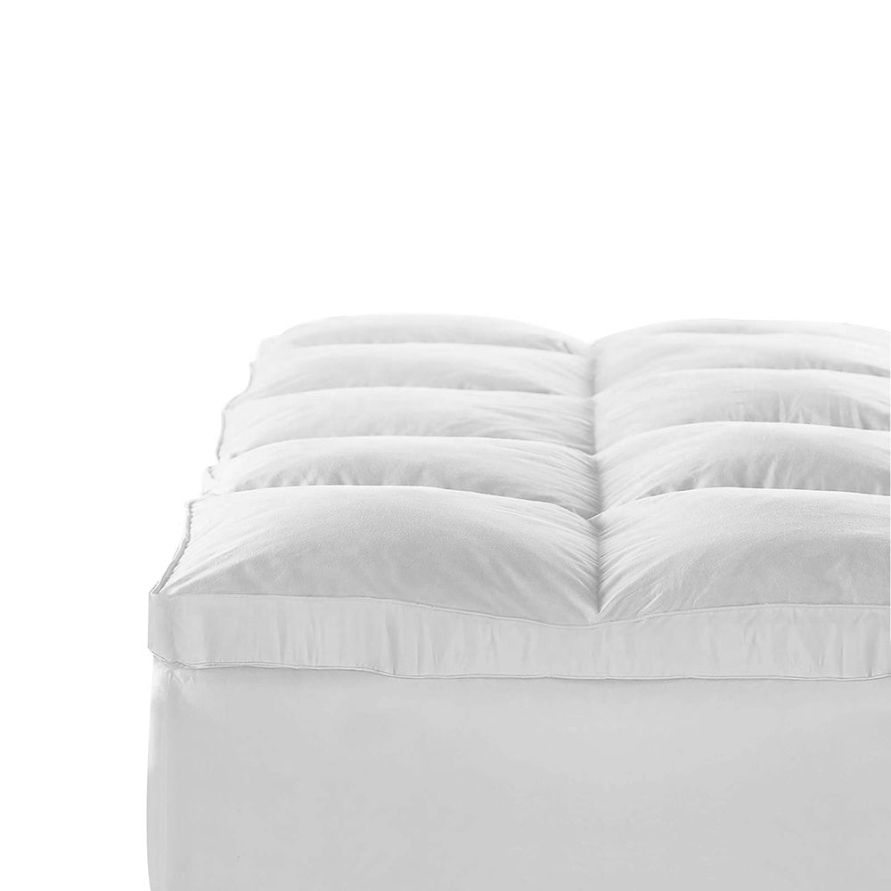 Giselle Bedding Single Size Duck Feather & Down Mattress Topper