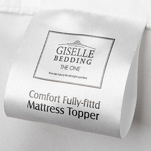 Giselle Bedding Double Size Memory Resistant Mattress Topper