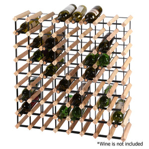 Artiss 72 Bottle Timber Wine Rack