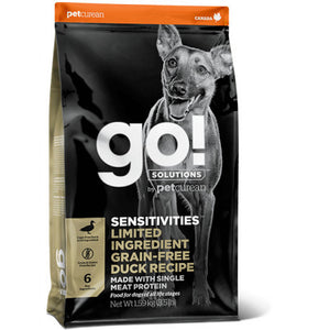 GO! SENSITIVITIES Limited Ingredient Grain Free Pato 1,6kg