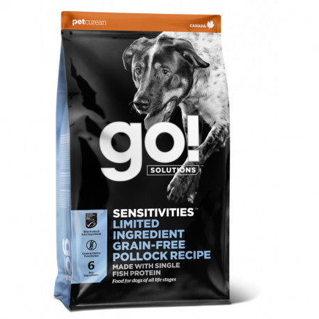 GO! SENSITIVITIES Limited Ingredient Grain Free Pollock Dogs 1,6kg