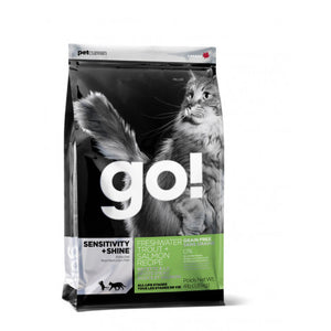Go! Sensitivity Grain Free Trucha y Salmon Gatos
