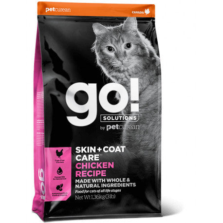 GO! SKIN + COAT Pollo Gatos