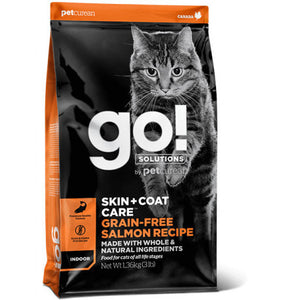 GO! SKIN + COAT Grain Free Salmon Gatos 1,4kg