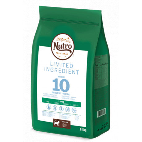 Nutro Limit Ingredient Perros Adultos Medianos Cordero