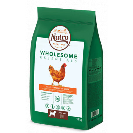 Nutro Wholesome Perros Adultos Medianos Pollo 11kg