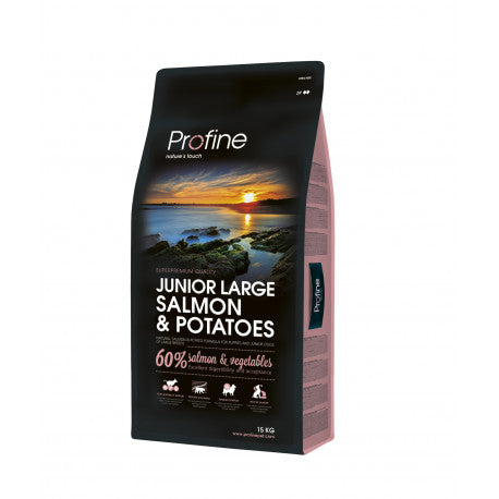 Profine Junior Razas Grandes Salmon