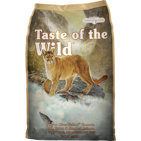Taste of the Wild Canyon River Trucha y Salmón Gatos