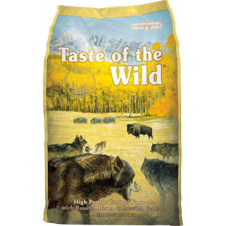 Taste of the Wild High Prairie con Bisonte y Venado