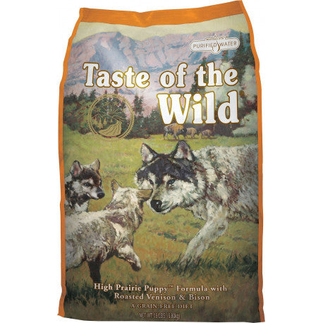 Taste of the Wild High Prairie Bisonte y Venado Puppy