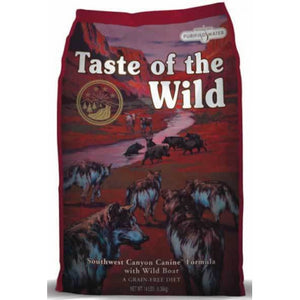Taste of the Wild South Canyon con Buey y Jabalí