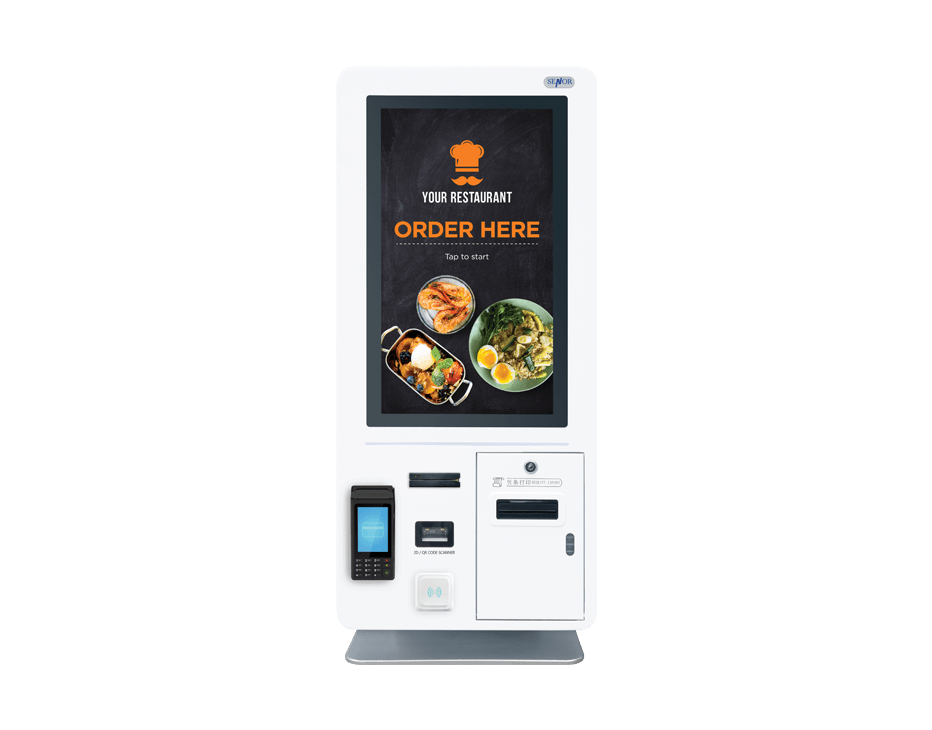 Rodimus 21 Touch Kiosk - Senor Tech | POS Solution