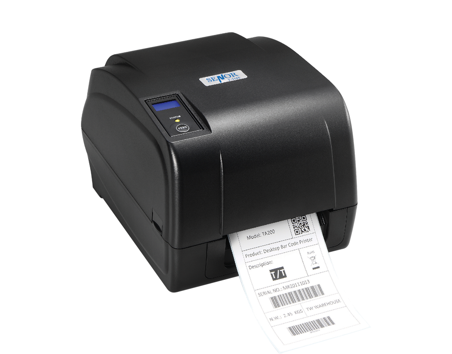 T-210E Label Printer - Senor Tech | POS Solution