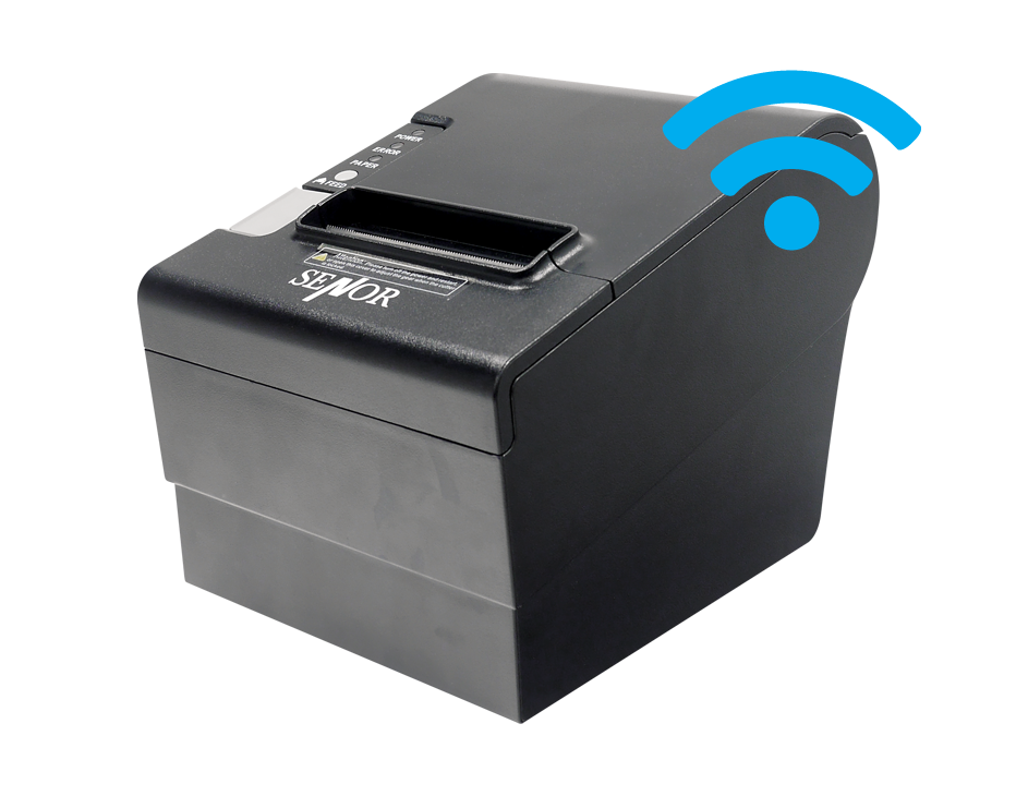 TP-100 Thermal Printer with Wi-Fi - Senor Tech | POS Solution