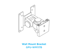 WM117B Wall Mount - Senor Tech | POS Solution
