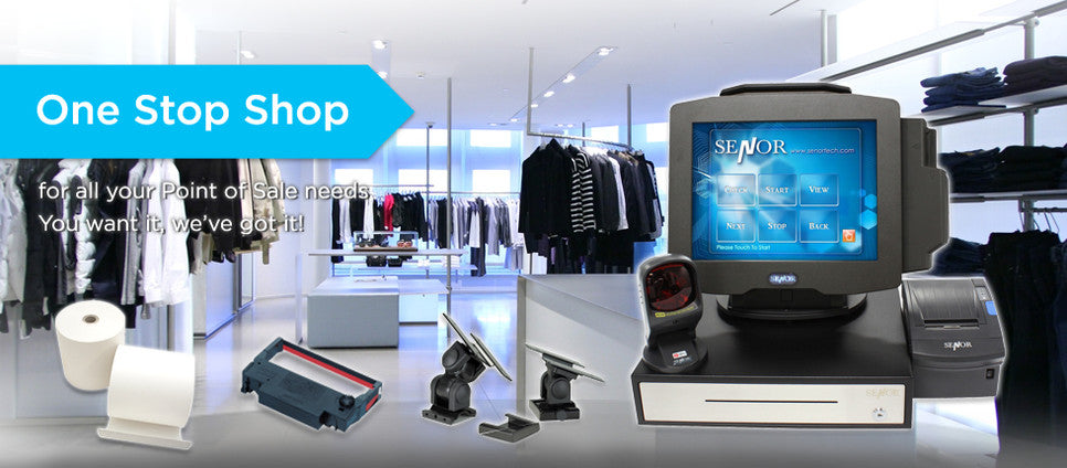 Point-of-Sale Supplies - Senor Tech | POS Solution