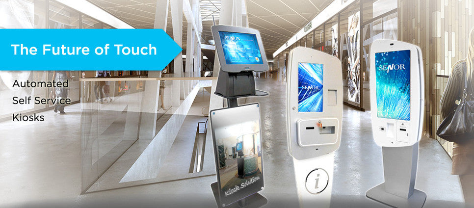 Touch Screen Self-Service Kiosk - Senor Tech | POS Solution