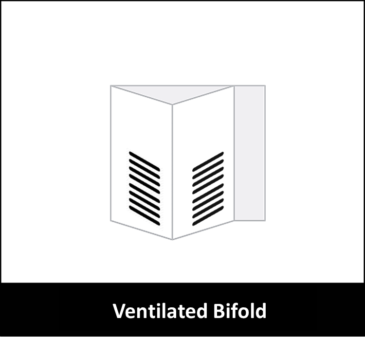 Bifold with Louver/Ventilated