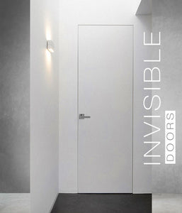 Frameless - Flush Sky Primed with Magnetic Handle