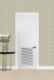 Ventilated Door V-12 Sky Primed Solid Core 1-3/8''