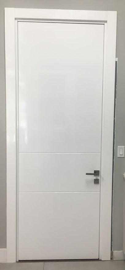Single Door C-02 Sky Primed 1-3/8''