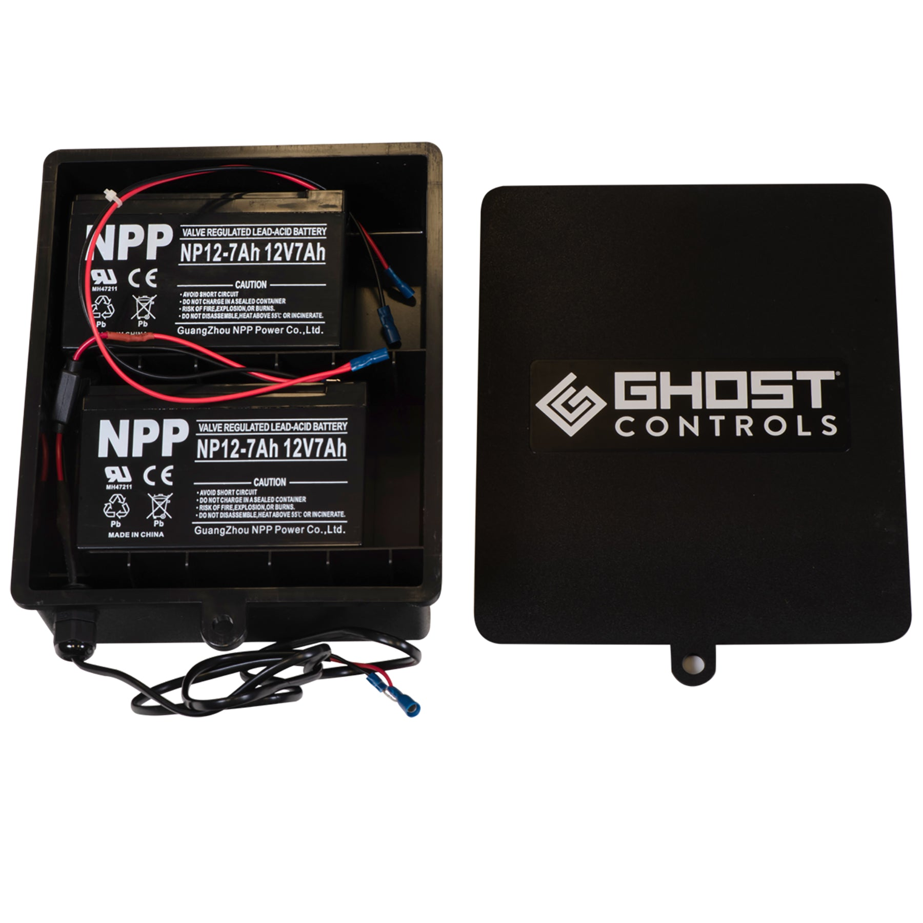 ABBT2 Battery Box Kit with Harness and 2 Batteries