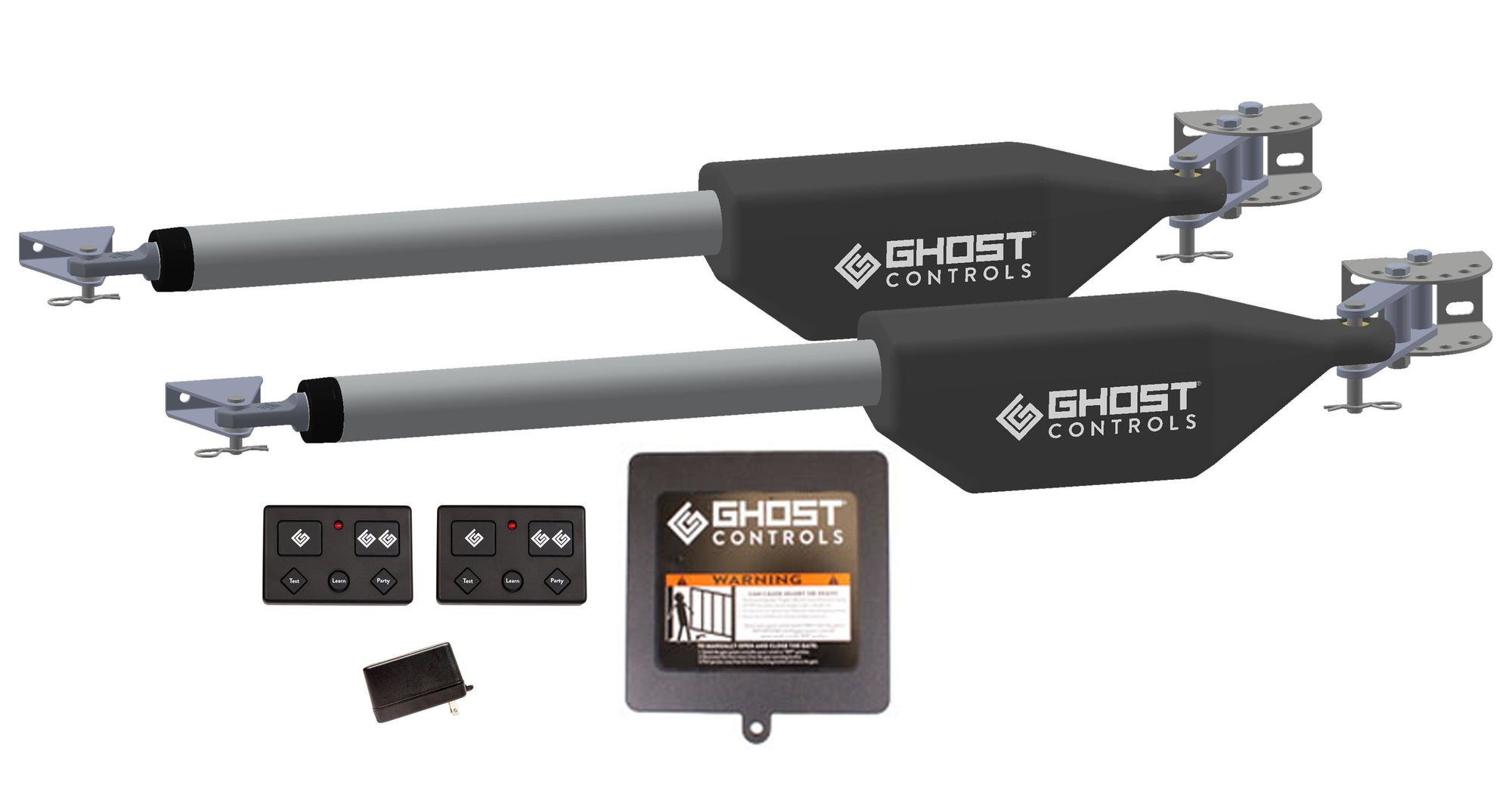 LDM2 GHOST PRO Series Dual Automatic Gate Opener Kit