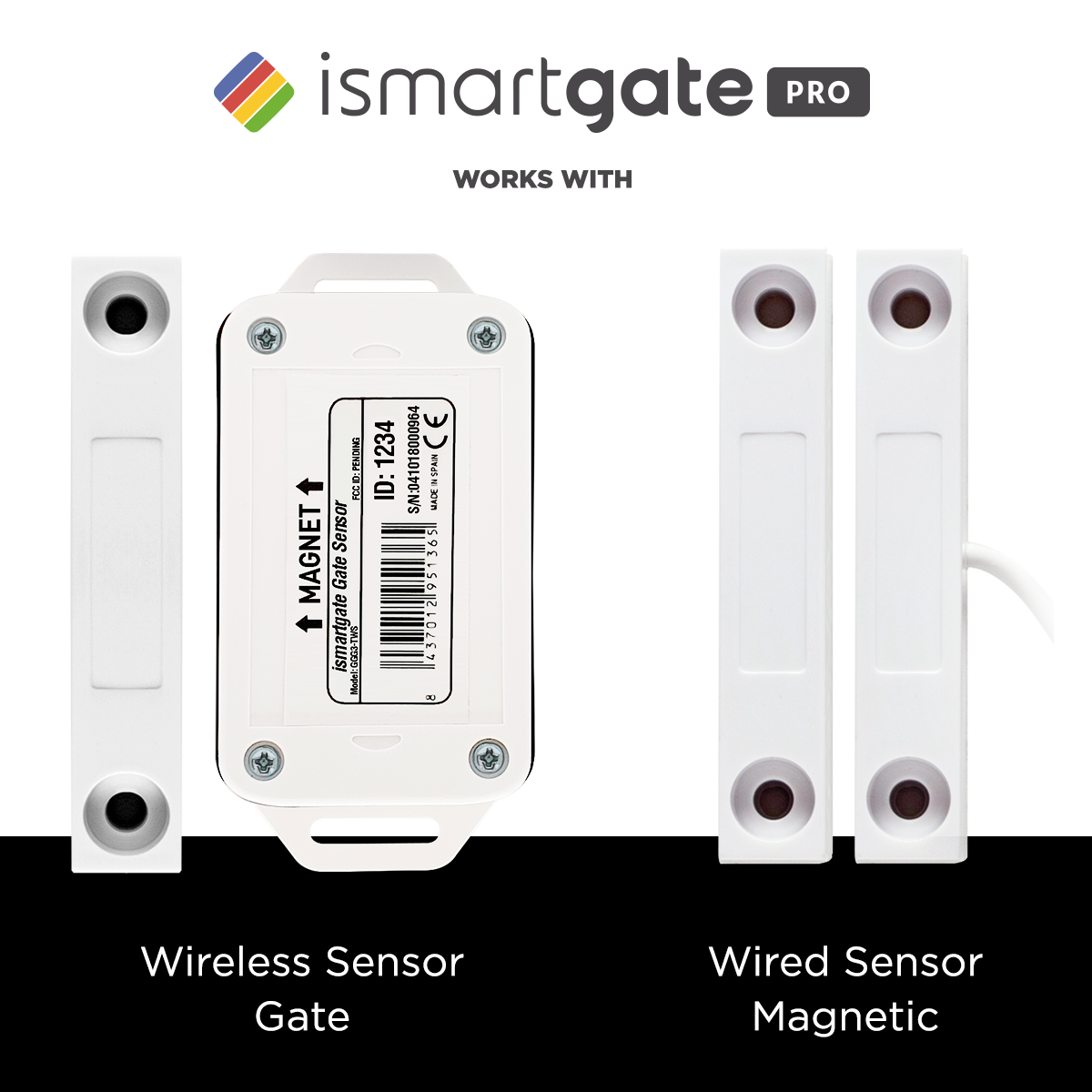 iSmartgate PRO Standard Kit with Wired Gate Sensor