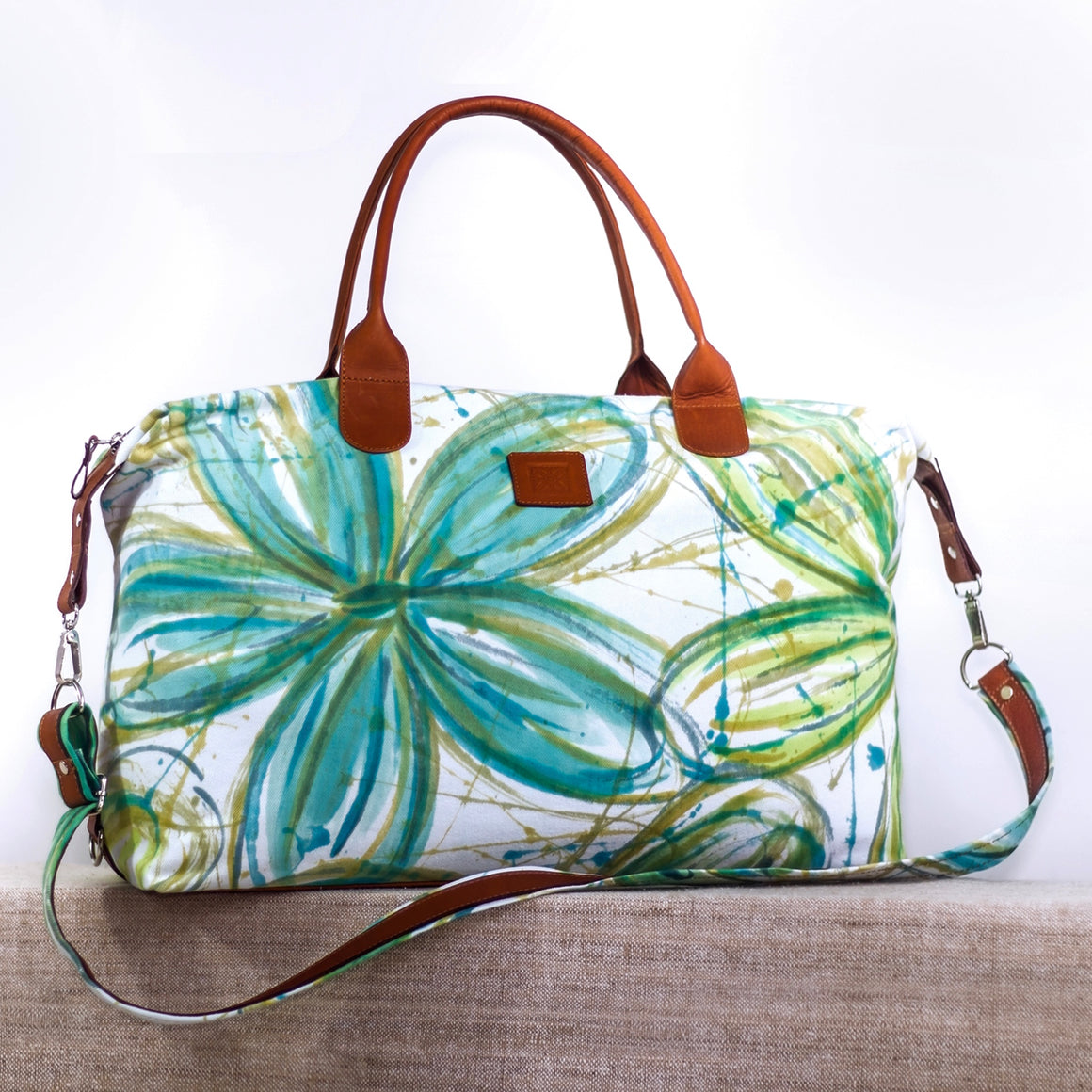 Intrepid Traveler - Convertible Tote - FlowerPower