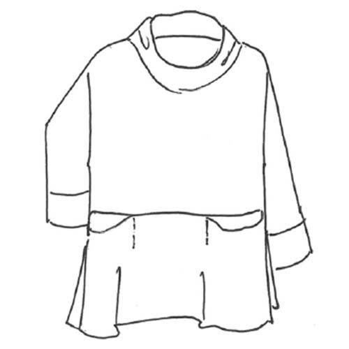 Relaxed Pocket Pullover