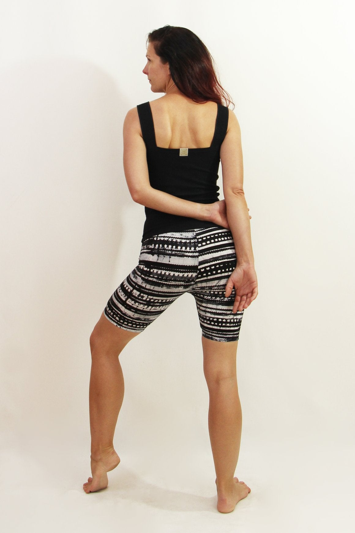 Night & Rise Stripe - Shorti Crops