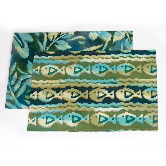 PiranhasParade Placemats and Napkins
