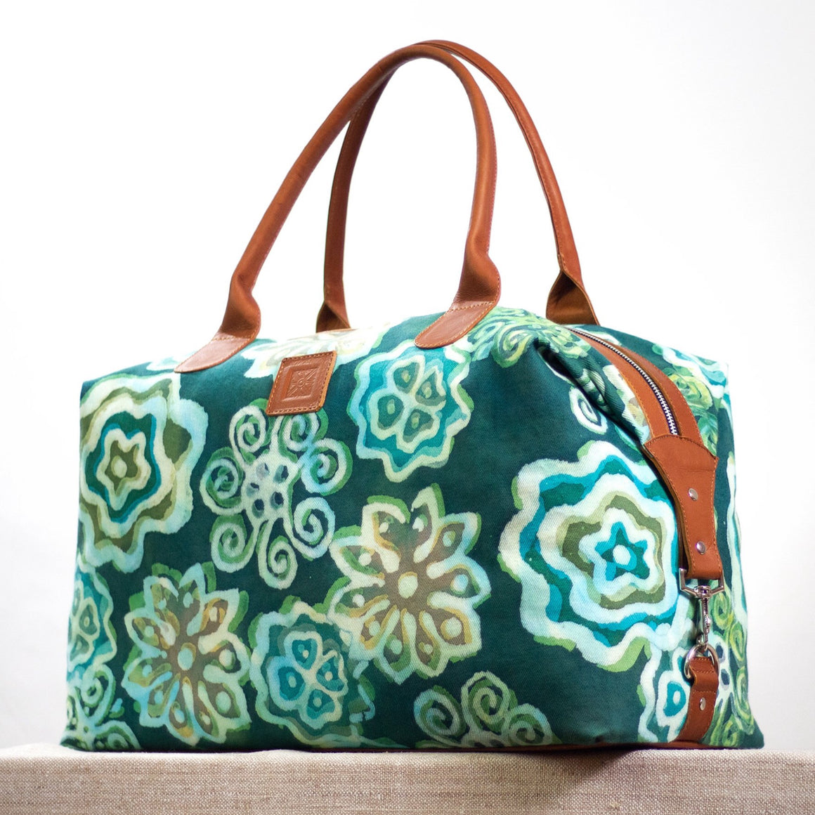 Intrepid Traveler - Convertible Tote - Green Goddess