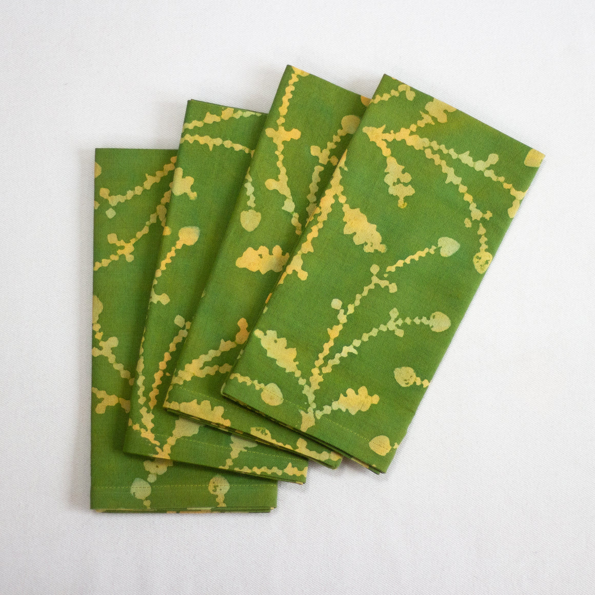 Hand Painted Napkins - Sprigs