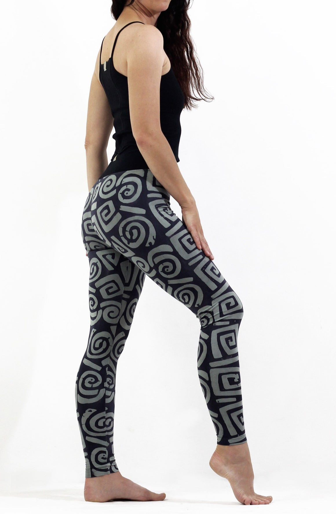 BlackTop Gray Mean - Leggings