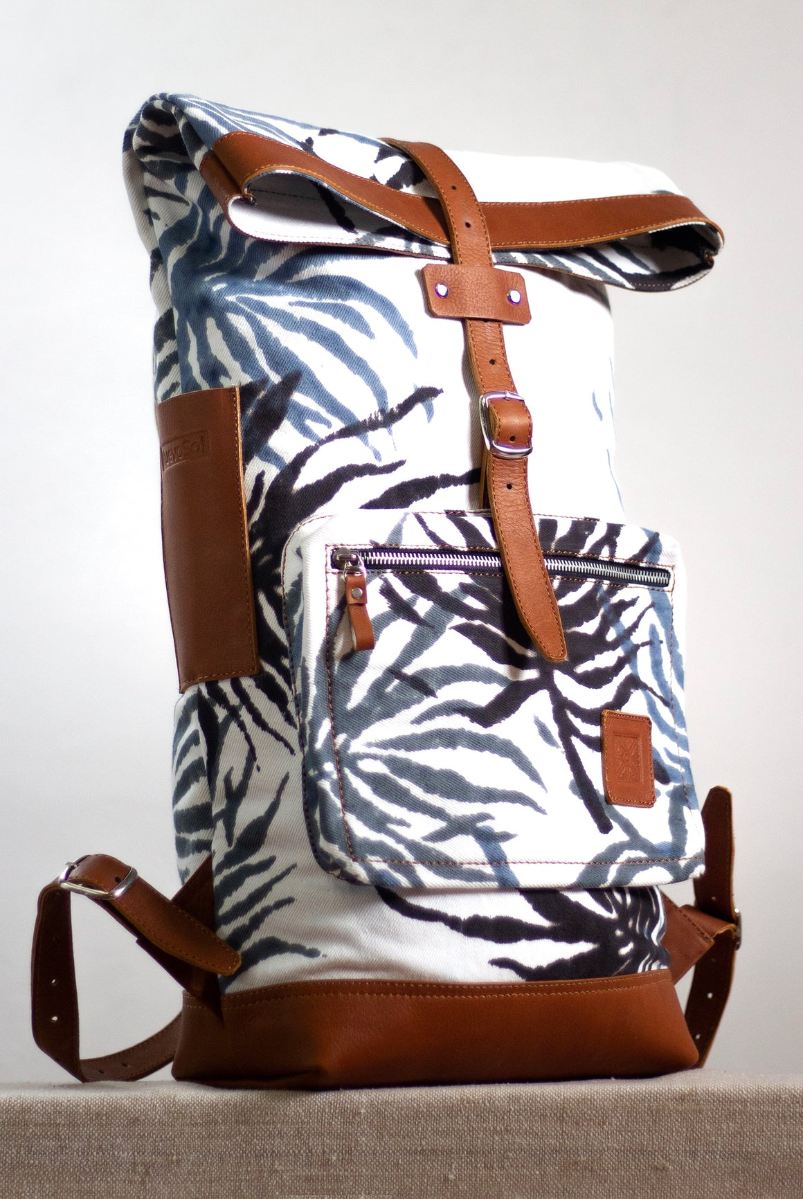 Intrepid Traveler - Artisan Backpack - SeaFern