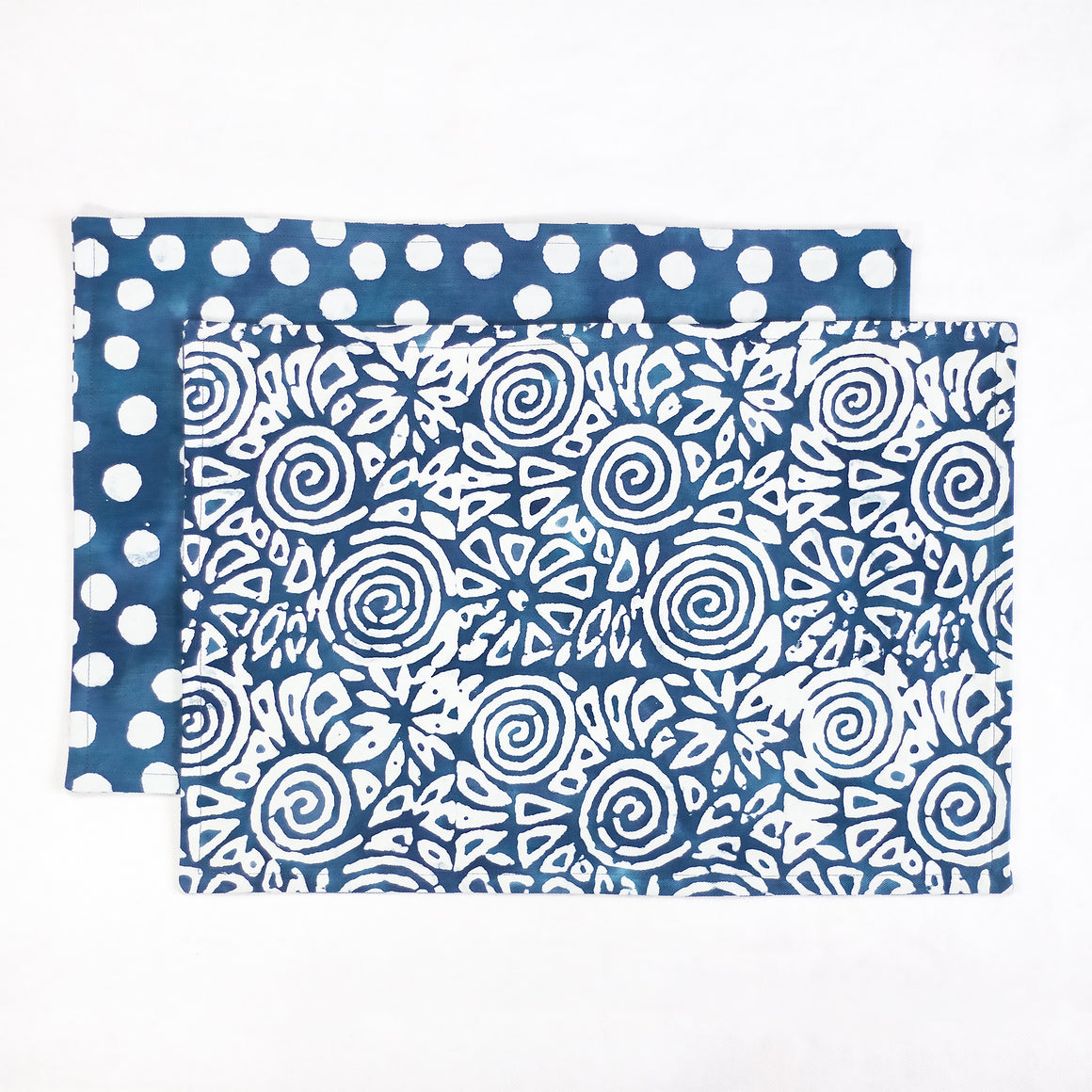 Hand Painted Placemats Napkins - Amuse/Effervesence