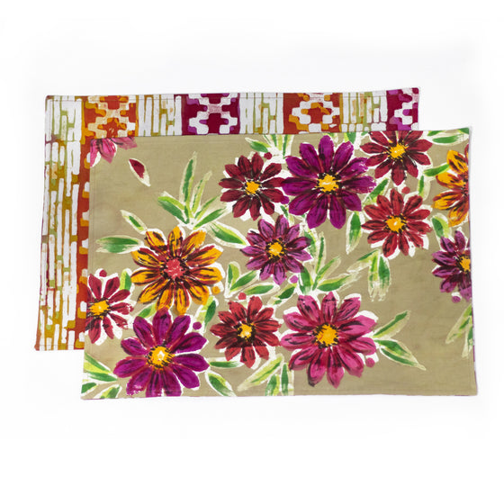 Margarite Placemats, Table Runner or Napkins