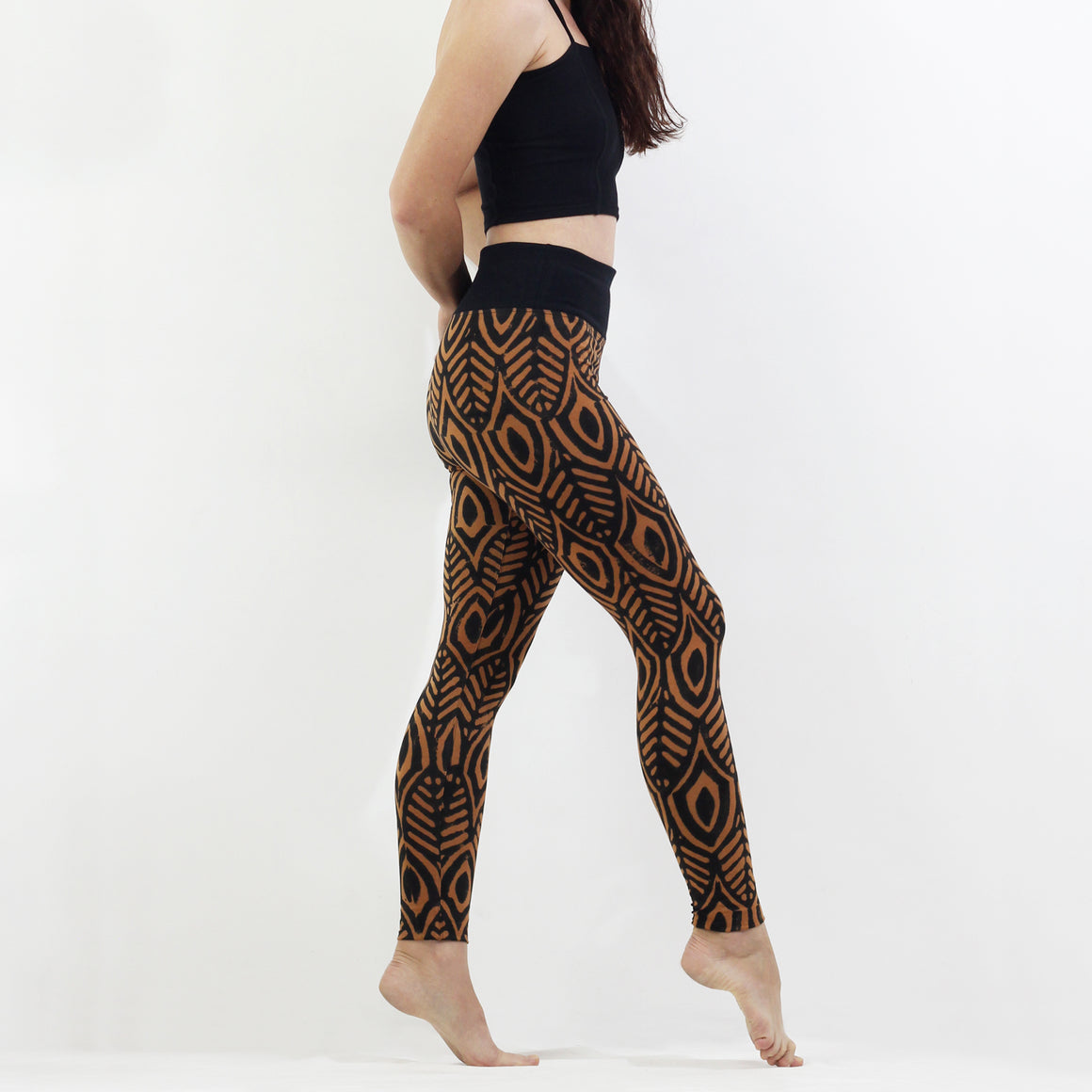 BlackTop Pharaoh's Feathers - Leggings
