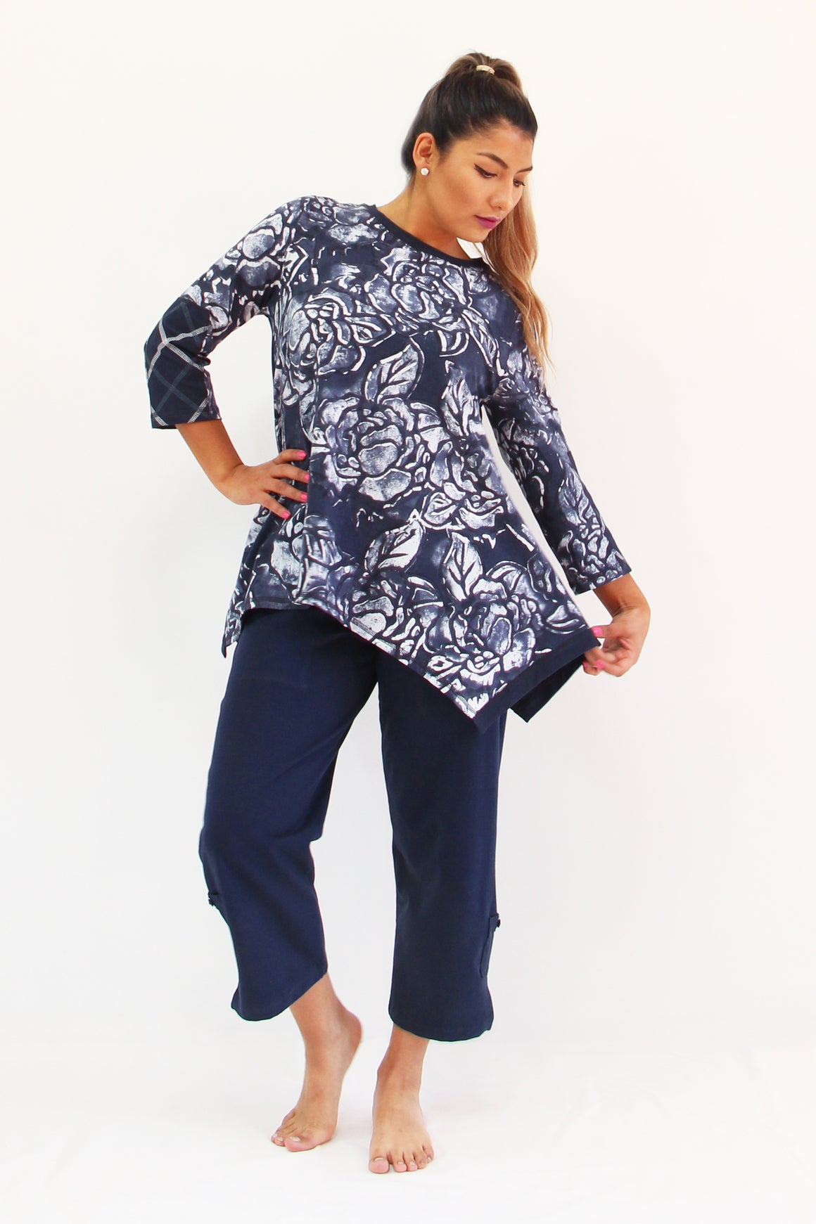 Indi Rose- Angie Tunic - WS Separates